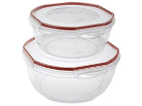 Sterilite Ultra Seal 4 pc. Bowl Set