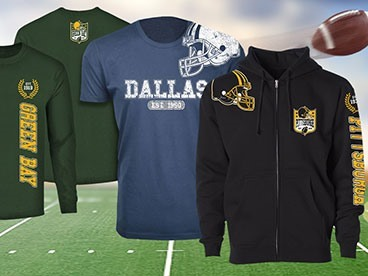 Football Apparel Is Here!