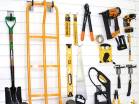 Proslat 8' Garage Wall Kit with 20 Hooks