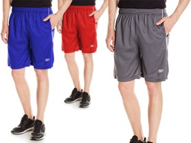 Reebok Men's Athletic Shorts 3-Pk or 6-Pk