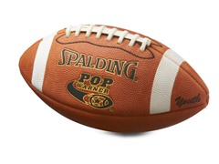 Spalding Youth Leather Ball, Age 12-14