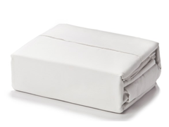 Eddie Bauer 500TC 6Pc Sheet Set - White - Queen