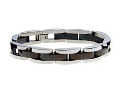 Semi Circle Link Bracelet