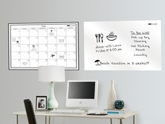 "24""x36"" White Board & Monthly Calendar"