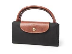 Longchamp Le Pliage Travel Handbag, Black