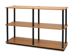 Turn n Tube 3-Tier Shelving Unit - Lt Cherry