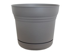 Planter, 12-Inch, Peppercorn