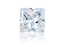 Princess Diamond 0.90 ct E SI1 with GIA report