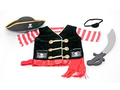 Melissa & Doug Pirate Role-Play Costume Set