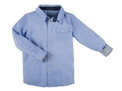 B&T Blue Oxford Shirt (Sizes 2T -4T)