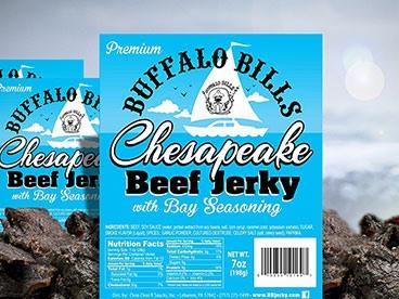 Buffalo Bills Chesapeake Beef Jerky