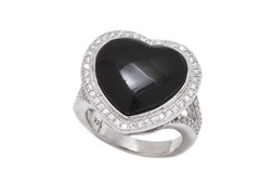 Black Onyx Gemstone Ring
