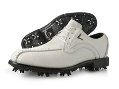 Men's Chev Blucher Golf Shoe, White (10)
