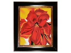 O'Keeffe - Red Amaryllis: 20X24