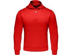 Under Armour Fleece Team Hoodie - Red