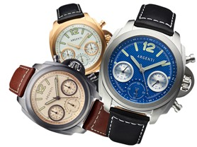 Argenti Swiss Quartz Chronograph - 5 Colors