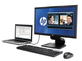 "HP Compaq 23"" USB Laptop Docking Monitor"