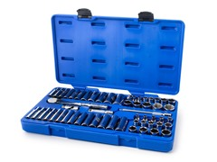Armstrong 3/8-Inch Drive 6-Point Tool Set, 54-Piece