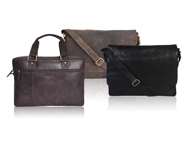 Estalon Leather Messenger Bags