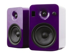 YUMI Speakers w/Bluetooth - Gloss Purple