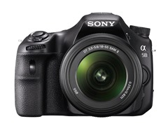Sony α58 20.1MP DSLR with 18-55mm Lens