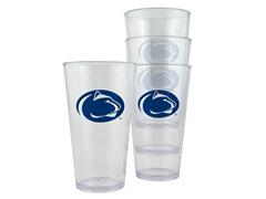 Penn State Plastic Pint Glasses 4-Pk