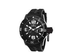 Men's Black Specialty Watch