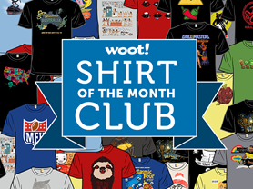 Woot Shirt Of The Month Club