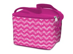 Lunch Cooler Bag- Chevron Zebra