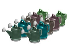 Deluxe Watering Can, 2 of Each Color