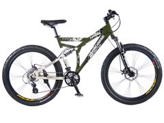 "Mongoose 26"" Fireline Mens Mountain Bike"