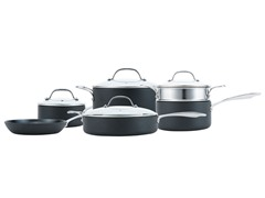 """Hardstuff"" 10pc Nonstick Cookware Set"