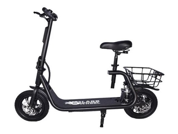 GlareWheel Electric Moped High Speed 15mph City Commuting Scooter