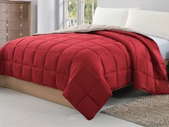 Reversible Blanket-Red-2 sizes