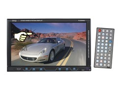 "In-Dash 8"" Single DIN TFT Touch Screen Receiver"