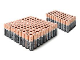 Duracell AA & AAA Alkaline Batteries - 150pk