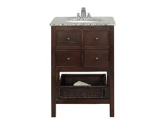 "Burnaby Dark Walnut 24"" Vanity"
