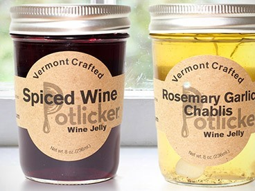 Potlicker Holiday Wine and Beer Jams (6)