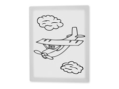 Alphie the Airplane Coloring Canvas