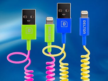 Delton Apple-Certified Lightning Cables