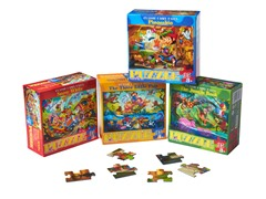 Classic 35-Piece Puzzle 4-Pack Bundle