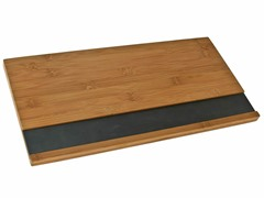 Bamboo Serving Board w/Slate Insert