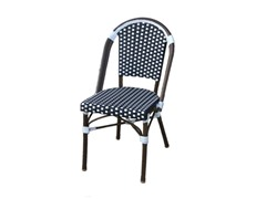 All-Weather Wicker Chair w/ Armrest