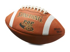 Pop Warner Mitey Mite Leather Football