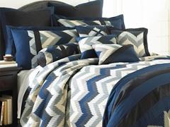 8pc Comforter Set - Reece - 3 Sizes