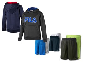 FILA Hoodies & Shorts (Yt. Sizes XS-XL)