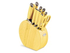 Fiesta 11-Pc. Cutlery Set - Sunflower
