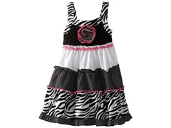 Youngland Zebra Sundress (Sizes 2T - 6)
