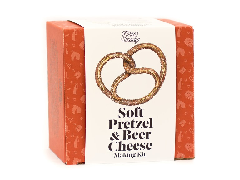 Farm Steady Pretzel and Beer Cheese Kit
