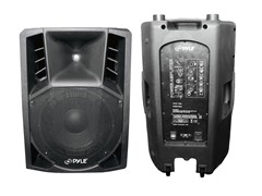 "15"" Powered 2-Way PA Speaker w/ Wheels"